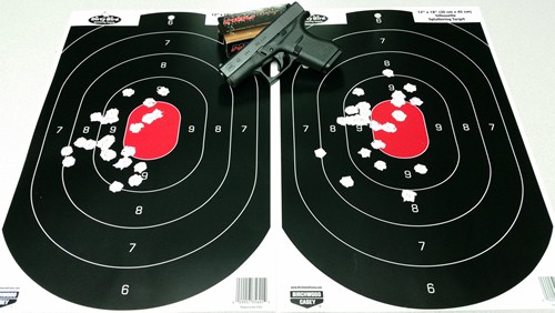 Glock 42 with PMC Bronze 380 ACP 90gr FMJ