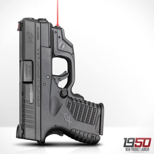 Springfield Armory XD-S Pistol With Crimson Trace Laserguard