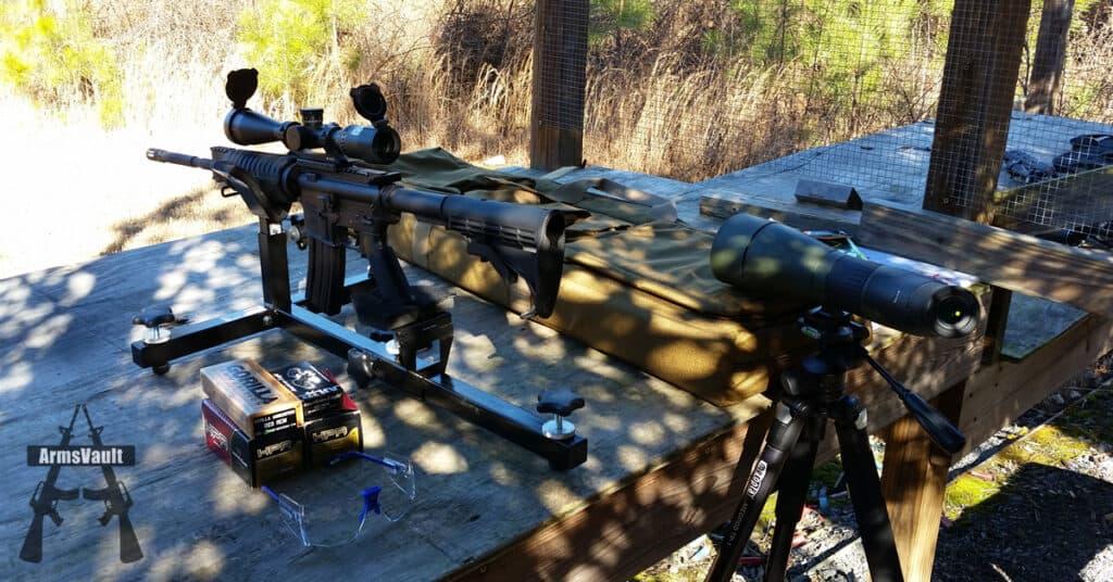 Windham SRC with Nikon M-223 Riflescope