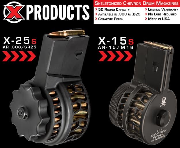 X Products Drum Magazines
