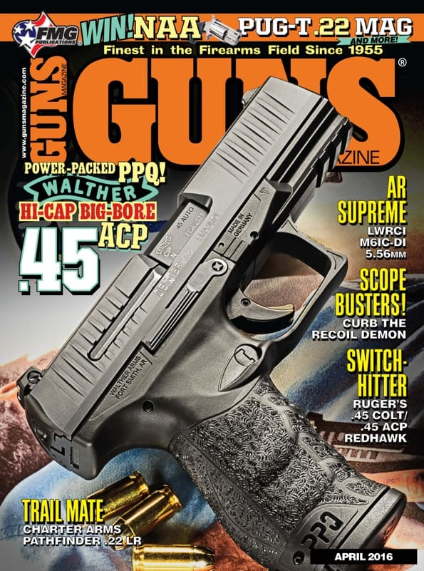 GUNS Magazine - April 2016