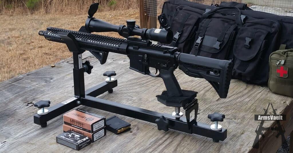 Kavod KVD-15 with Nikon M-223 Scope and Lehigh Defense 223 Range Test