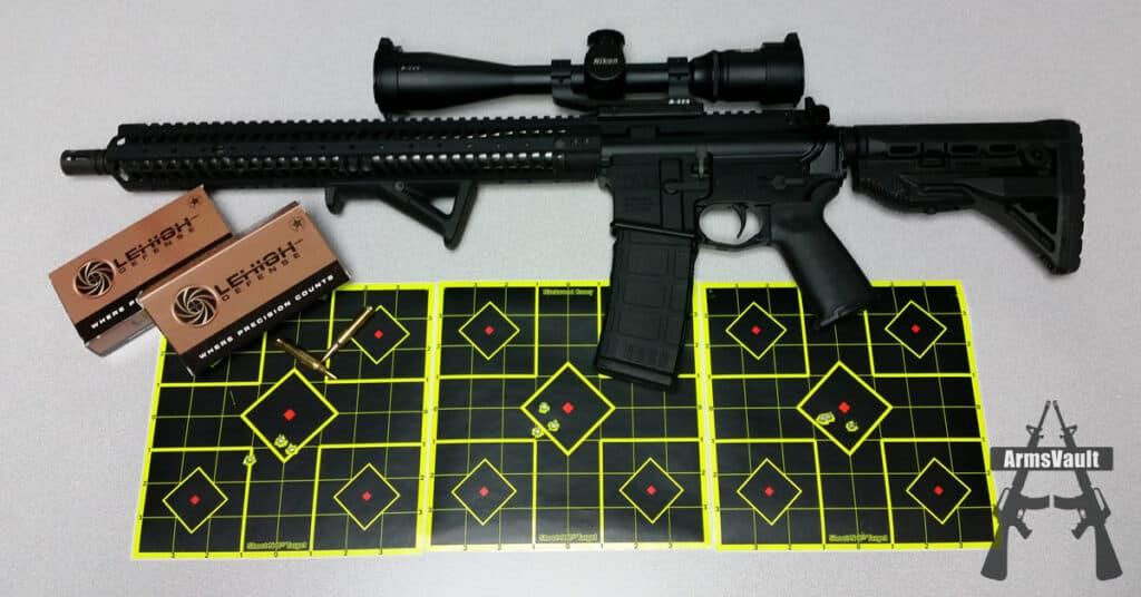 Kavod KVD-15 with Nikon M-223 Scope and Lehigh Defense 223