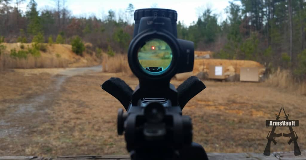 Trijicon MRO and Samson Quick Flip Sights on Windham SRC