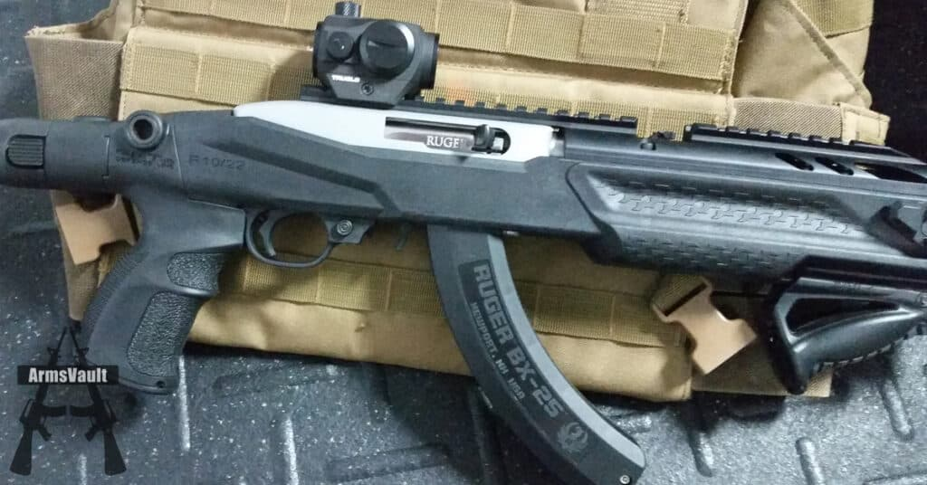 TruGlo TRU-TEC Red Dot on Ruger 10-22