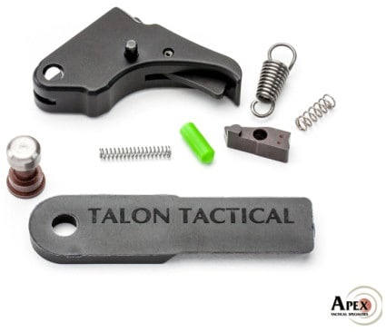 Apex Action Enhancement Trigger and Duty-Carry Kit for the MP Shield