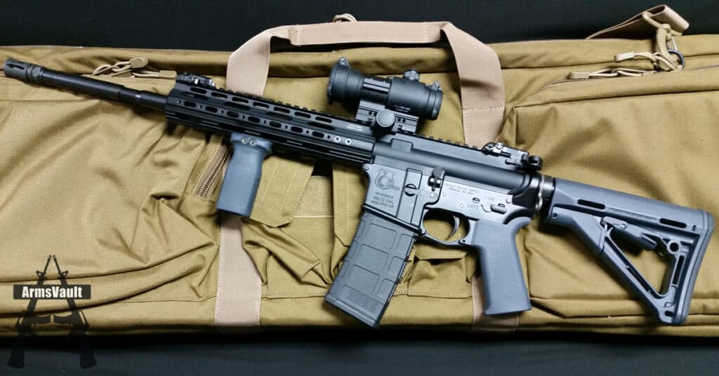 ArmaDynamics ADF-MKII Charging Handle on VPS-15 Rifle