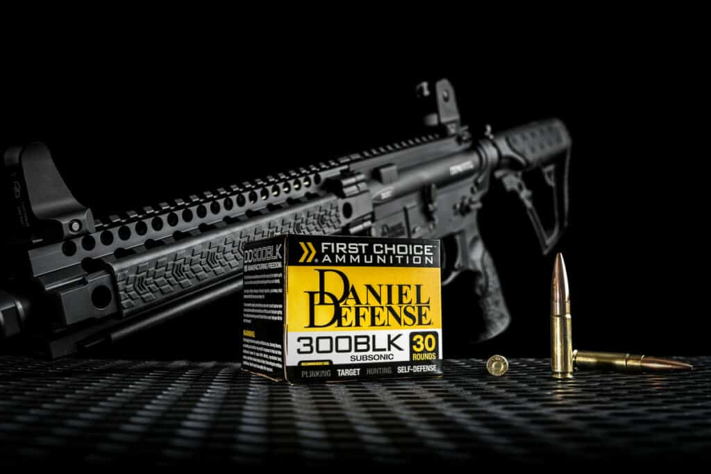 Daniel Defense First Choice 300 AAC Blackout Ammunition