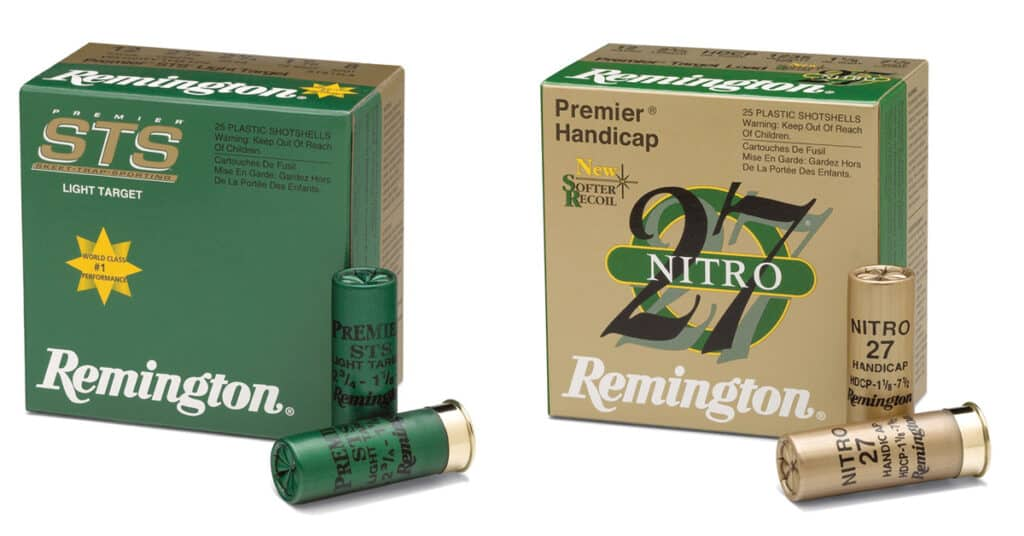 Remington STS Target Loads and Nitro 27 Loads