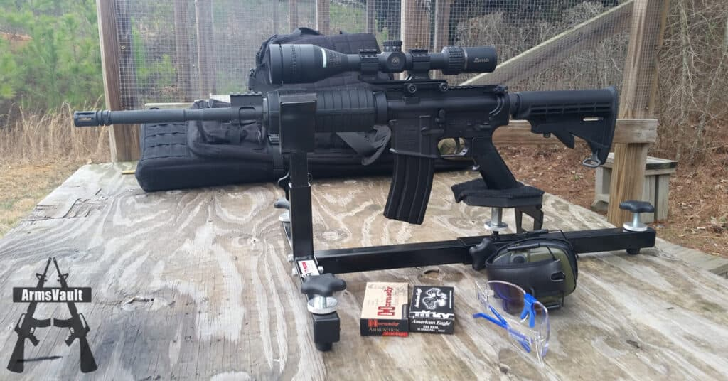 Sighting In Burris AR Riflescope