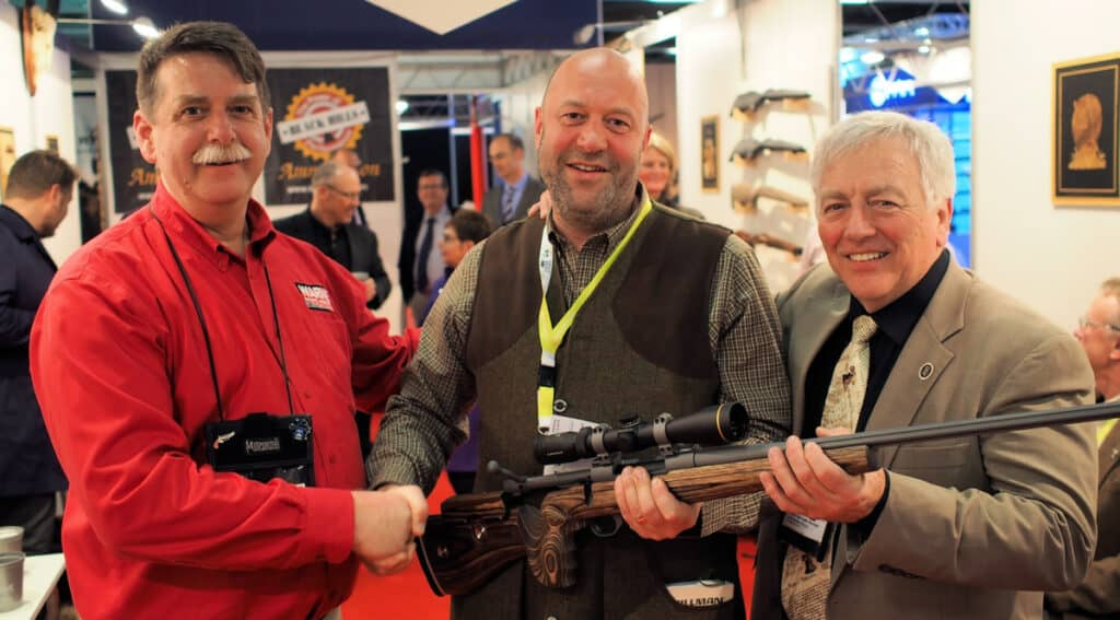 Warne Scope Mounts IWA Rifle Giveaway Winner