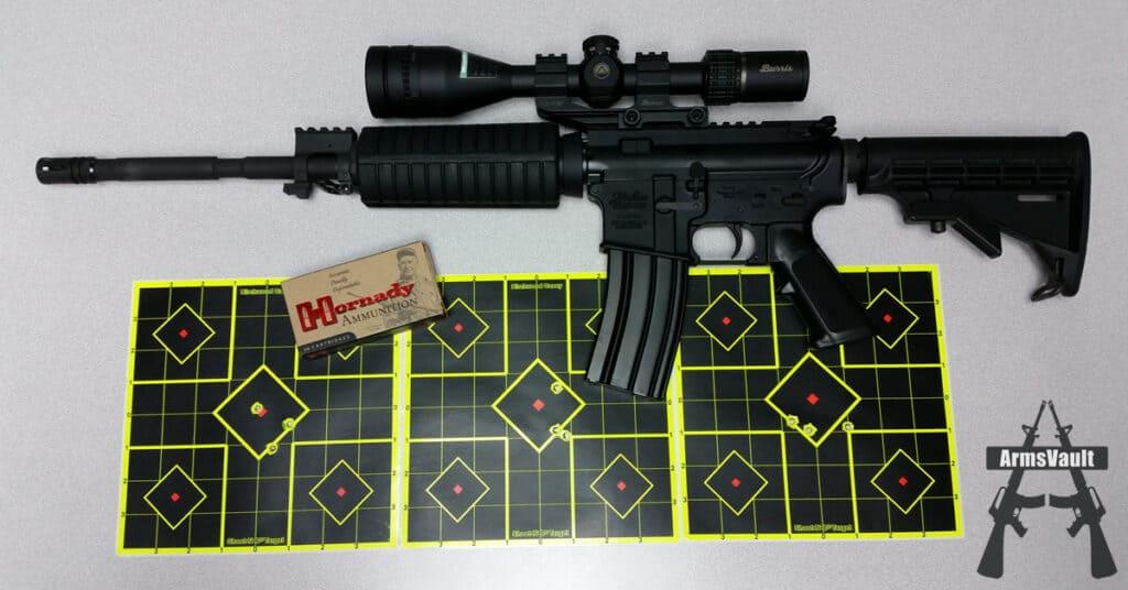 Windham SRC - Burris AR Riflescope - Hornady Varmint Express 223 55gr V-MAX