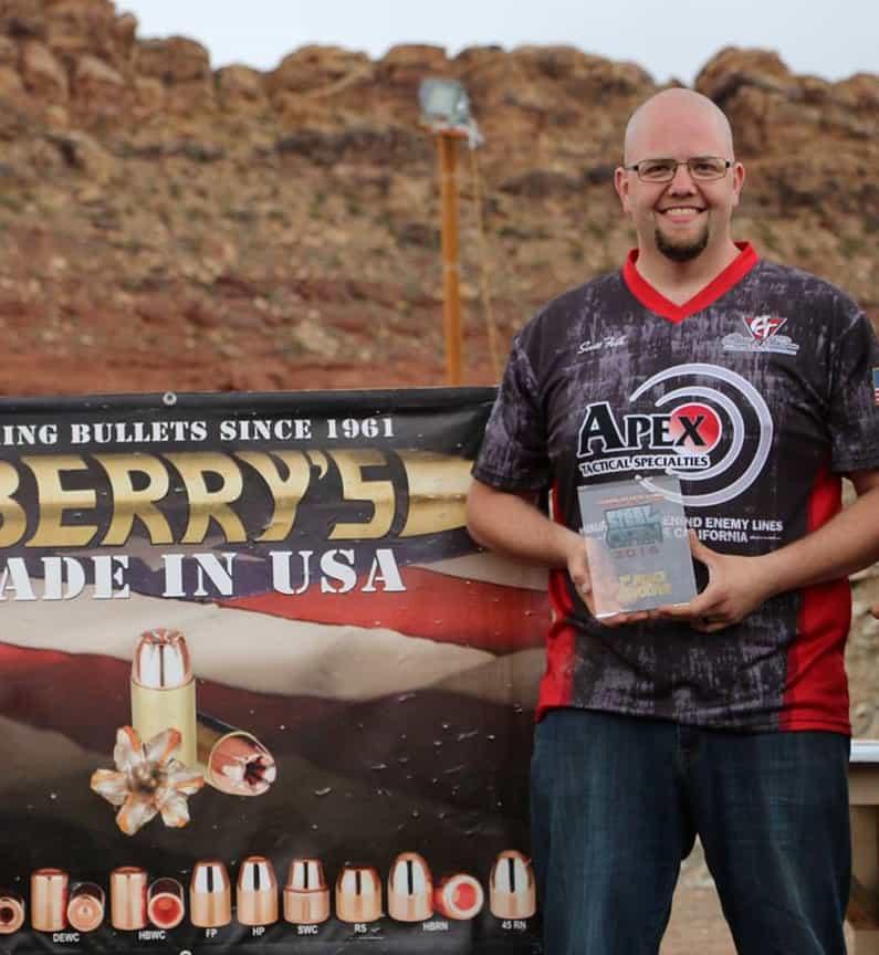 Apexs Scott Folk Takes Revolver Title At Berrys Steel Open
