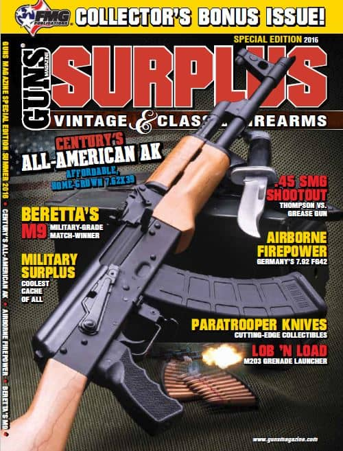 GUNS Magazine - Surplus 2016