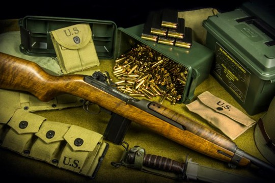 Inland Mfg M1 Carbine and Aguila Ammunition