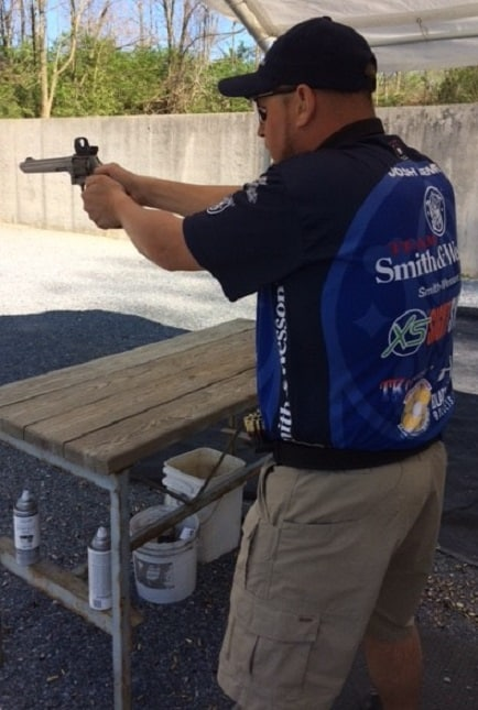 Josh Lentz at PSA Shootout