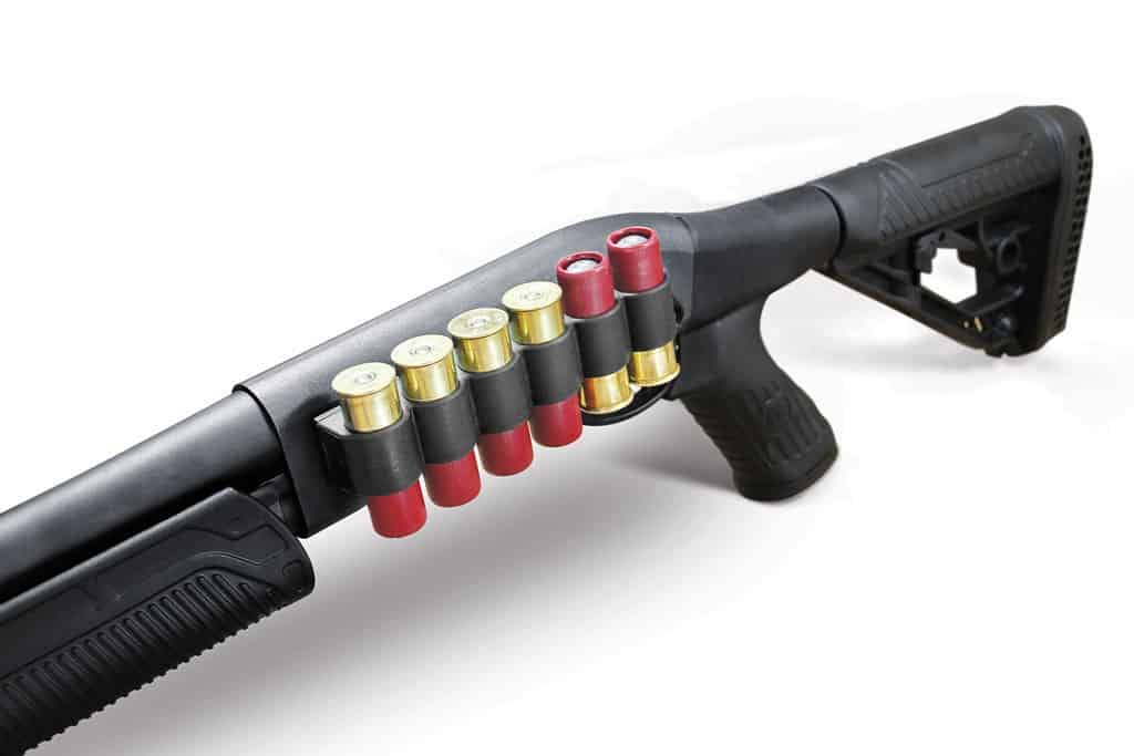 Receiver Mounted Shell Carrier for Remington Pump Action Shotguns