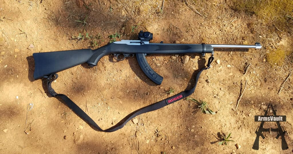 Ruger 10-22 with TruGlo TRU-TEC Red Dot Sight