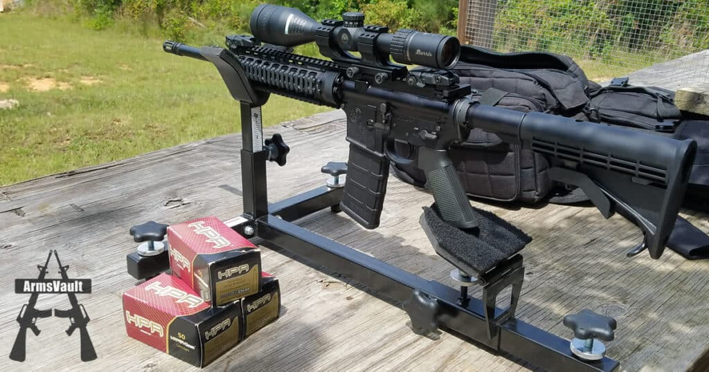 Smith and Wesson MP15T with Burris AR Riflescope