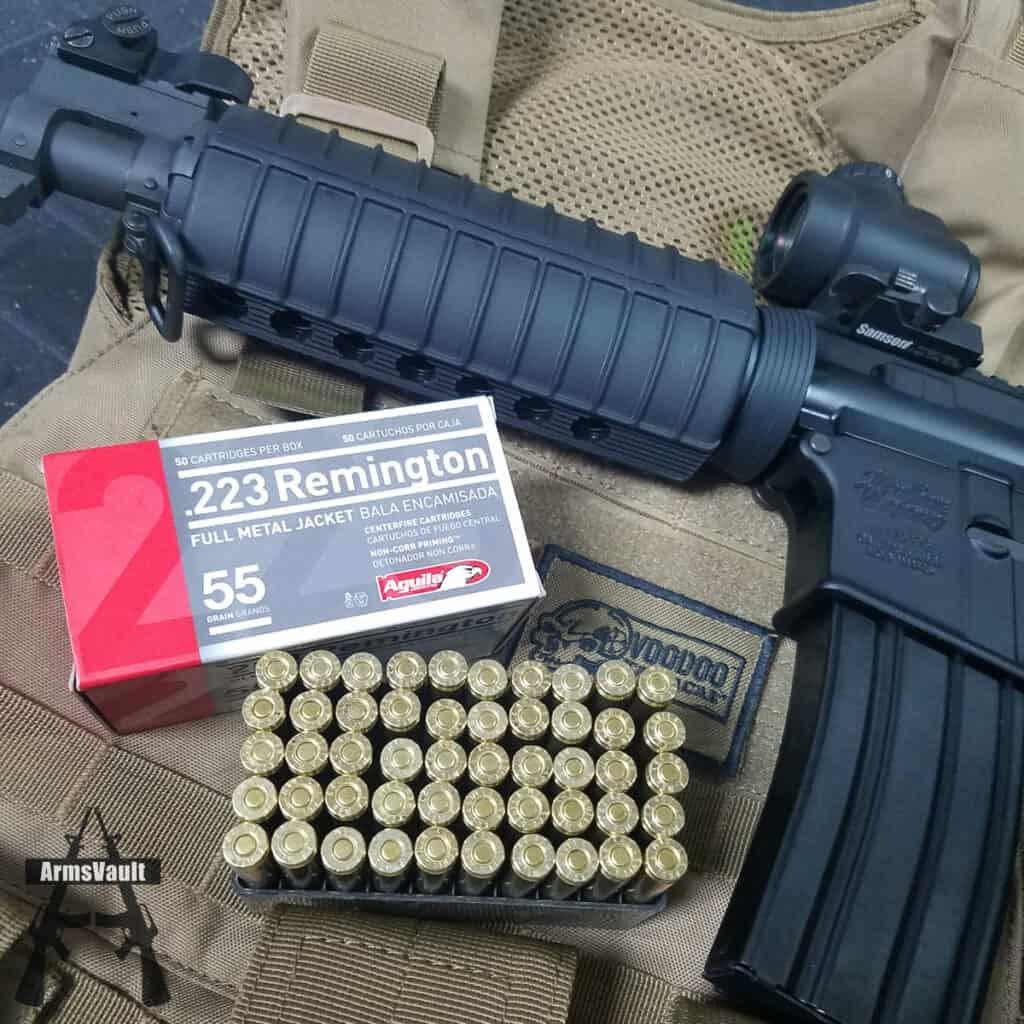 Aguila 223 Remington 55gr FMJ Ammunition