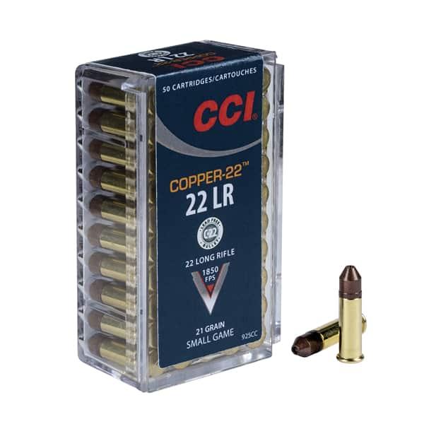 CCI Ammunition Copper-22