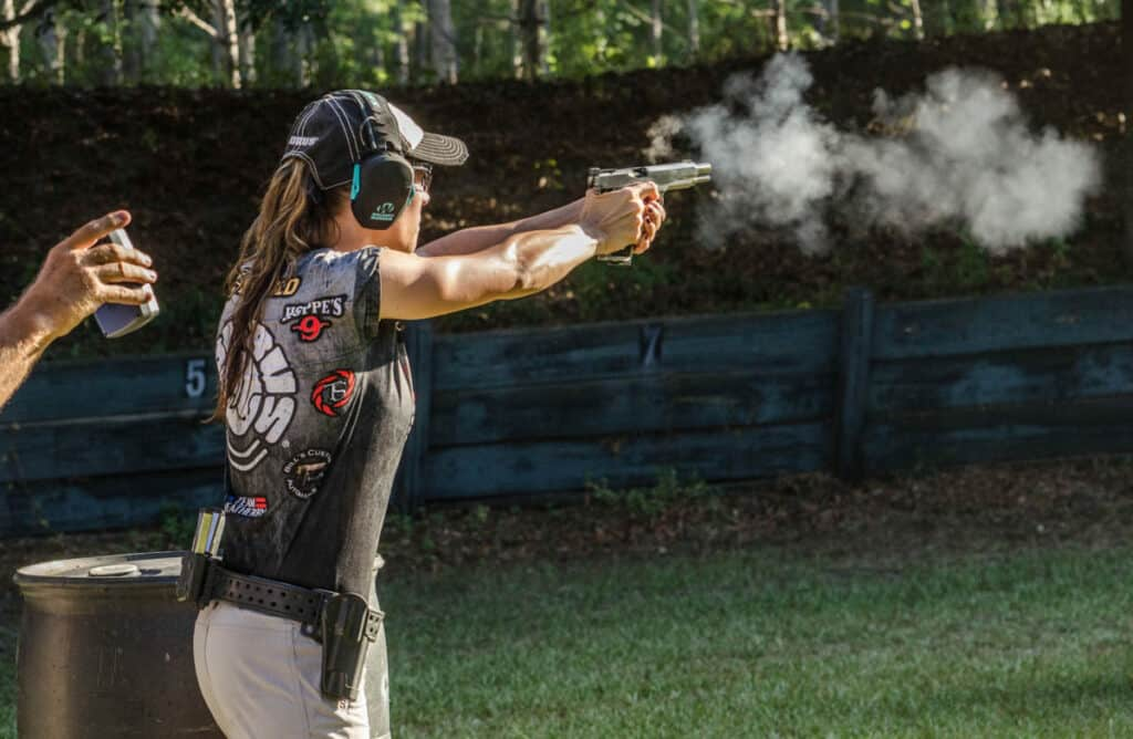 Taurus Team Captain Jessie Duff Wins at Florida State Steel Challenge