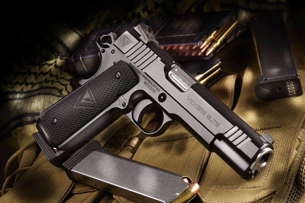 Wilson Combat Giving Away Vickers Elite 1911