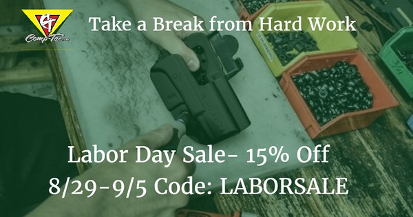 Comp-Tac Labor Day Sale