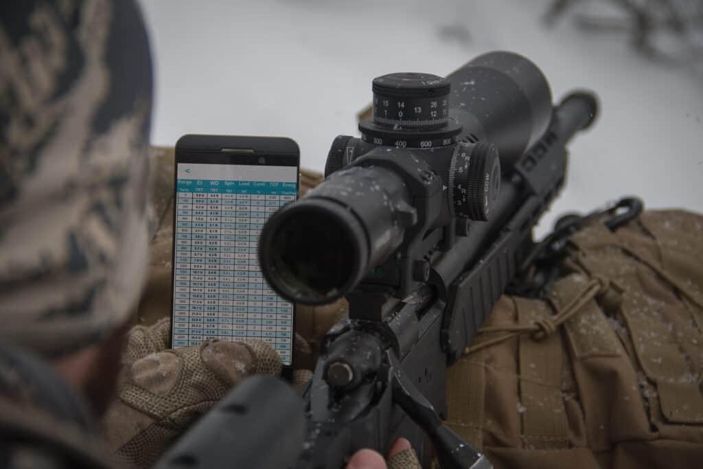 Desert Tech TRASOL Ballistic App