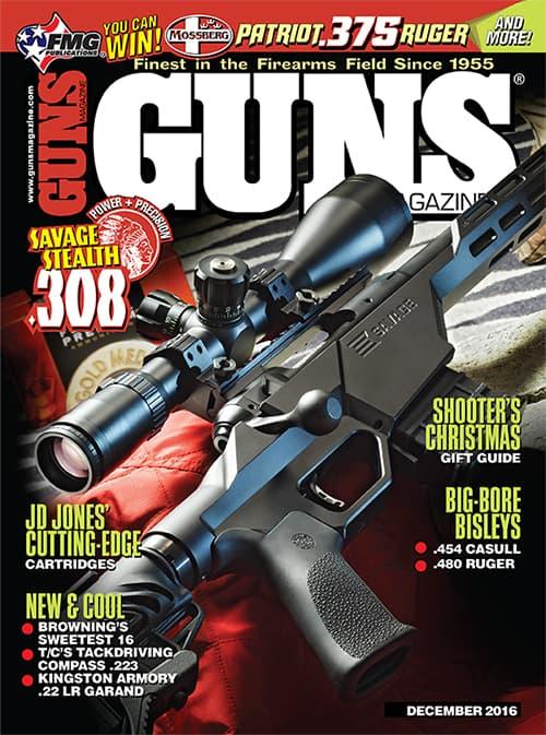 GUNS Magazine - December 2016