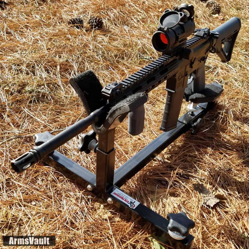 Kavod Custom VPS-15 on CTK Precision Shooting Rest
