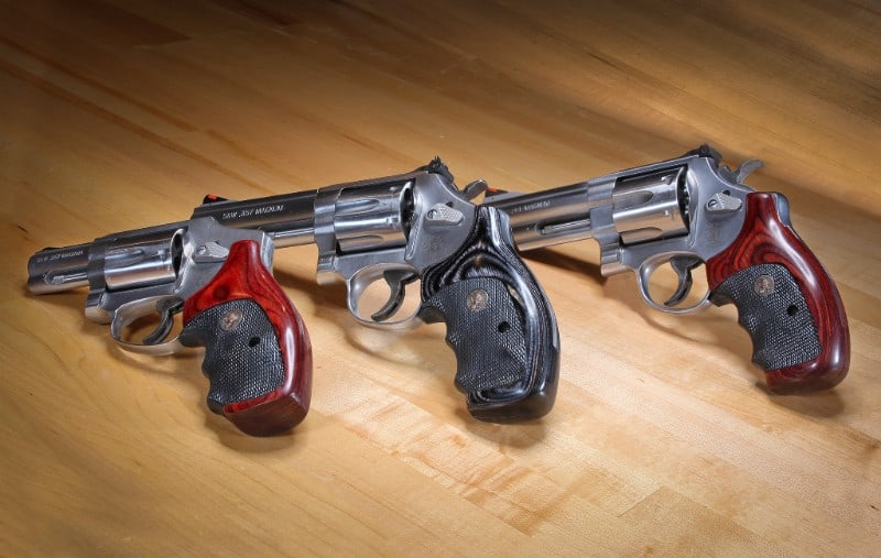 Pachmayr American Legend Grips for SW Revolvers