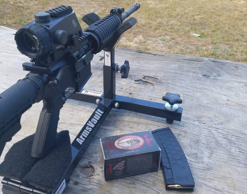 Sig BRAVO4 Battle Sight on Windham Weaponry SRC