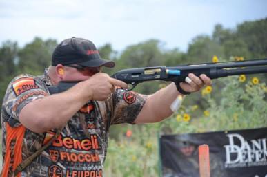 Team Benelli 3-Gun shooter Jacob Betsworth
