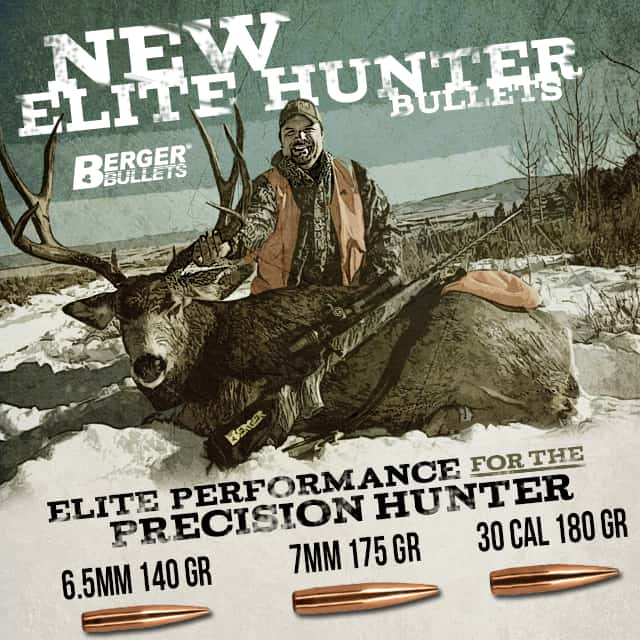 Berger Bullets Releases New Elite Hunter Bullets