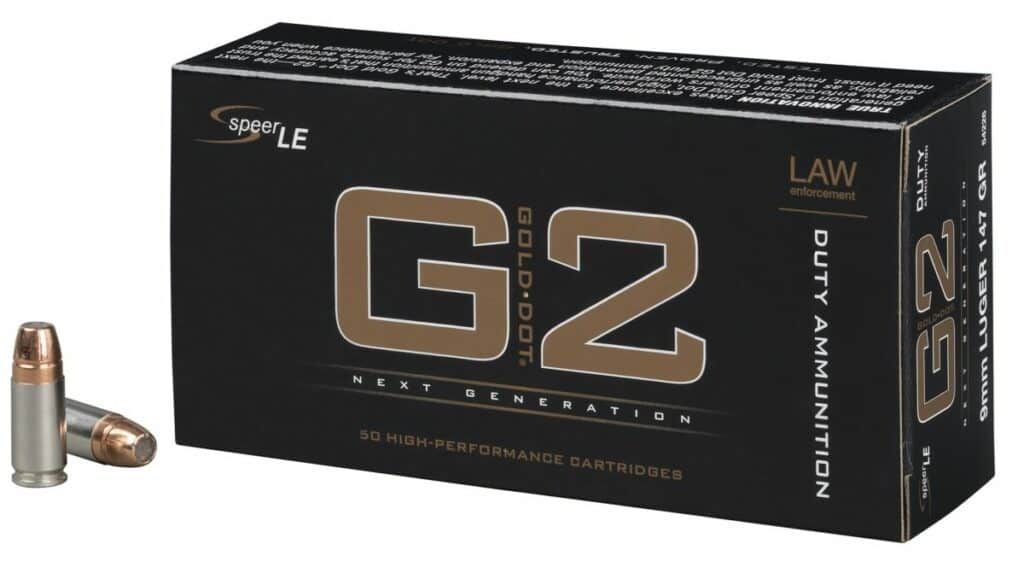 Speer Gold Dot G2 Duty Handgun Ammunition