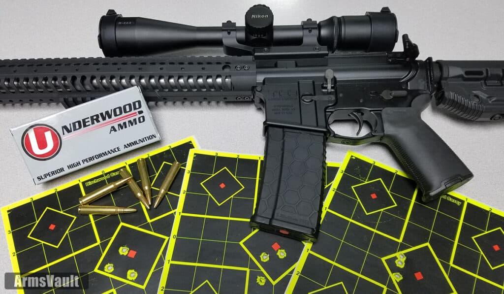 Kavod Custm KVD-15 with Underwood Ammunition 223 Remington 55 Grain Controlled Chaos