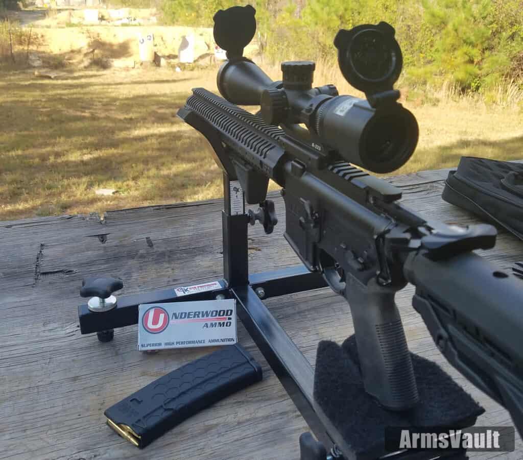 Underwood Ammunition 223 Remington 55 Grain Controlled Chaos Accuracy Test