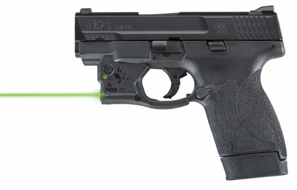 Smith Wesson MP45 Shield Viridian Reactor R5 Laser
