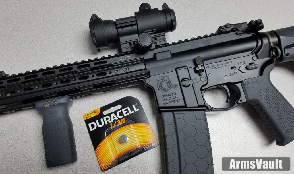 Aimpoint PRO Battery Life and Replacement