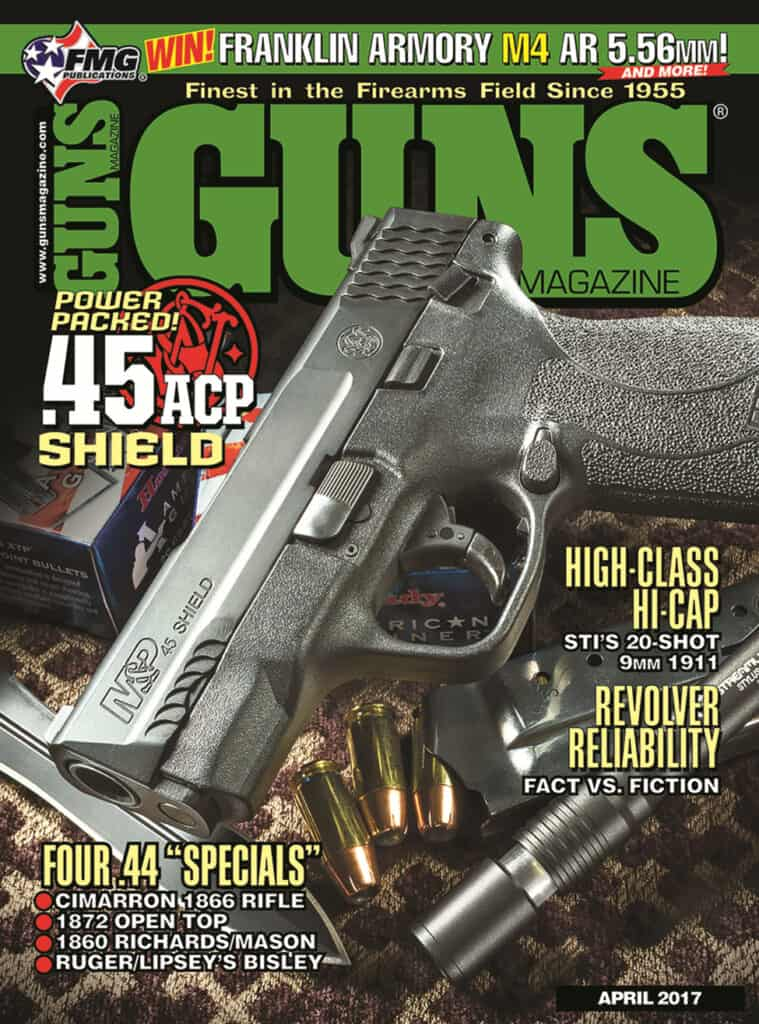 GUNS Magazine April 2017
