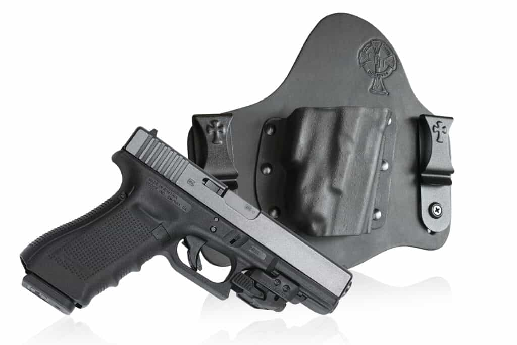 CrossBreed SuperTuck Holster with Crimson Trace Rail Master