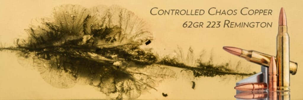 Lehigh Defense 223 Remington Controlled Chaos Copper Ammunition
