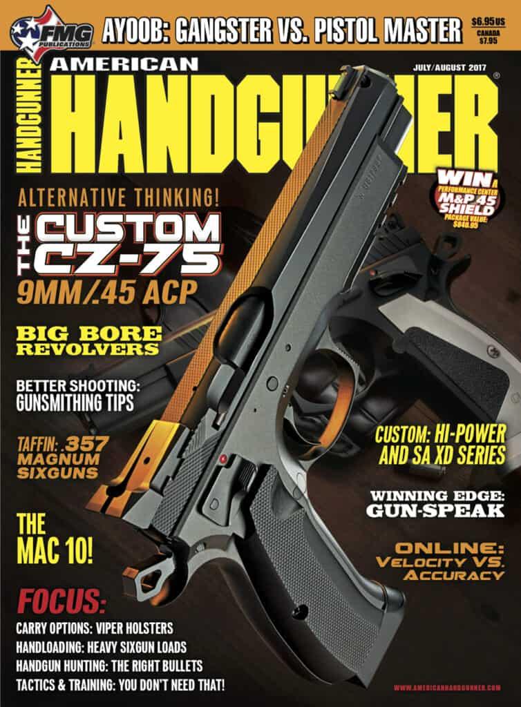 CZ-USA Custom CZ-75 in American Handgunner