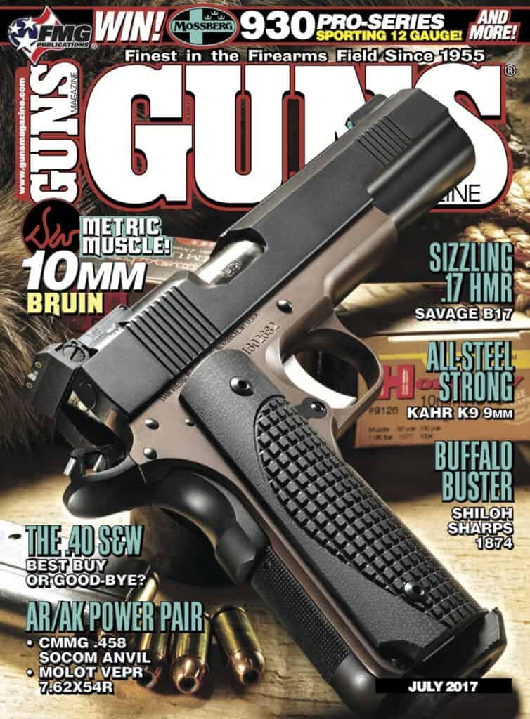 GUNS Magazine July 2017