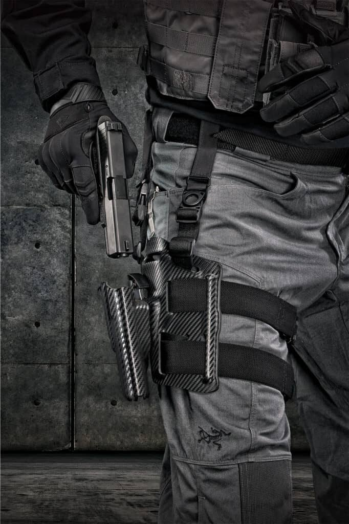 Hogue Automatic Retention Holster and Thigh Rig