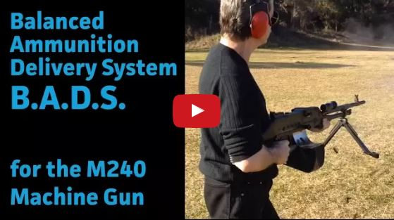 Balanced Ammunition Delivery System for M240 Machine Gun