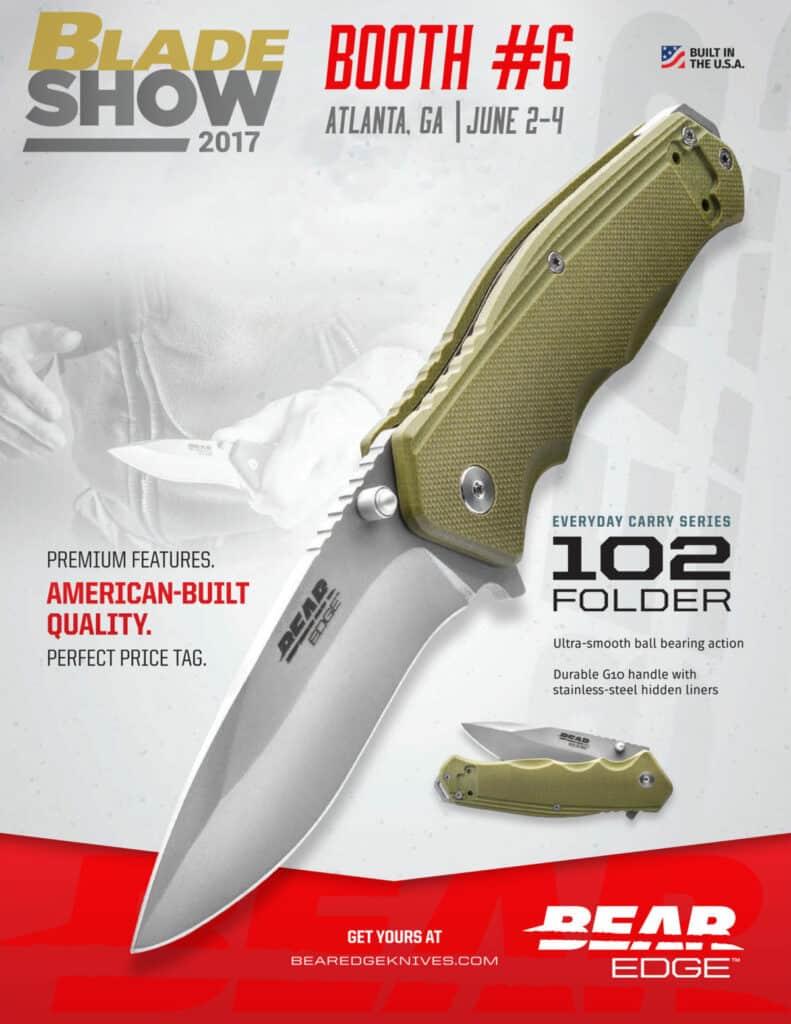 Bear Edge Knives at 2017 Blade Show