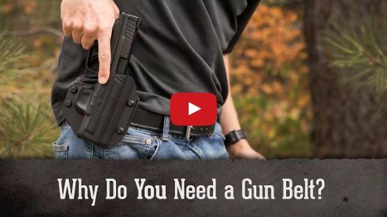 Bigfoot Gun Belts - Why You Need a Good Gun Belt