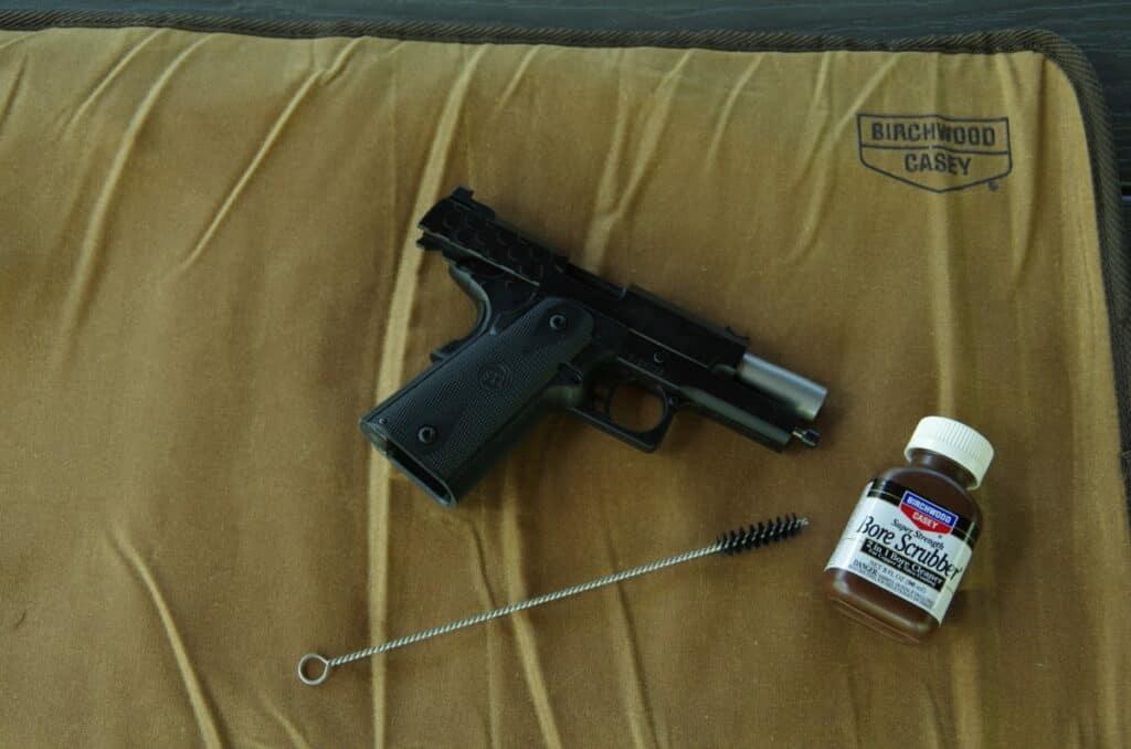 Birchwood Casey Handgun Waxed Canvas Mat